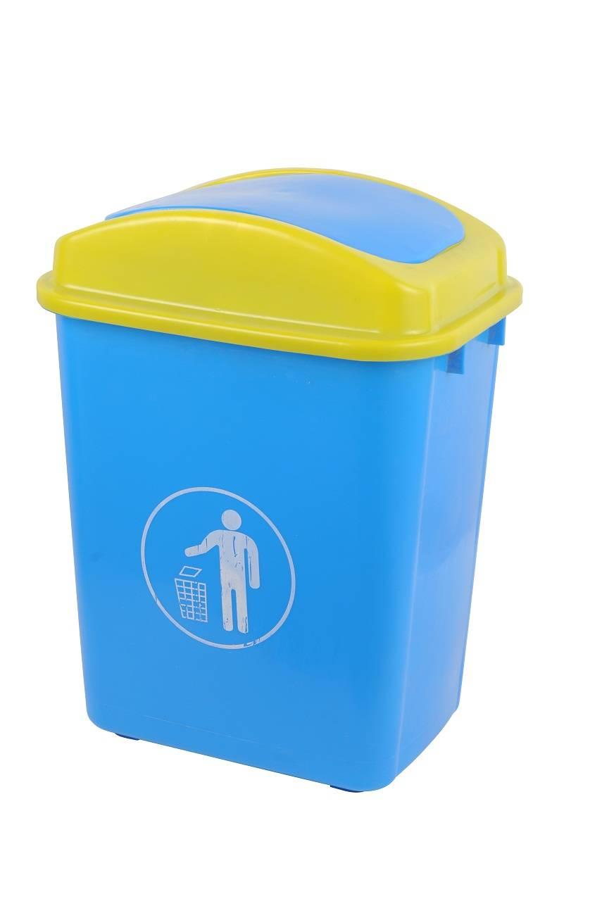 Hot sale 30L/20L durable cheap HDPE plastic dustbin