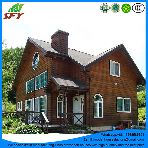 China factory of prefab wooden villa/wooden house/timber home