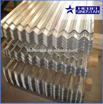 Aluzinc Corrugated Steel Sheets/Plates