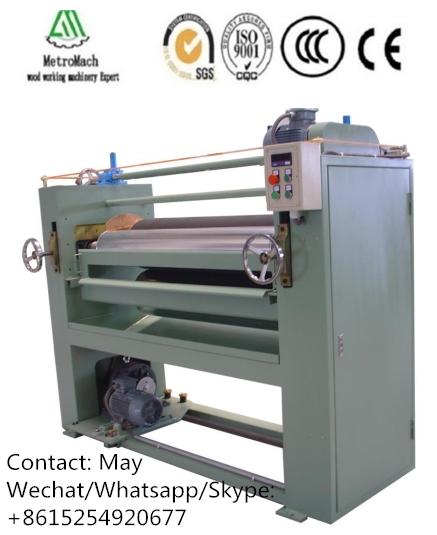 CNC woodworking glue spreader machine