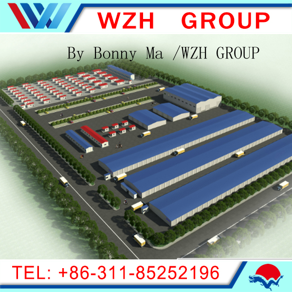 prefabricated steel structure building , steel structure warehouse
