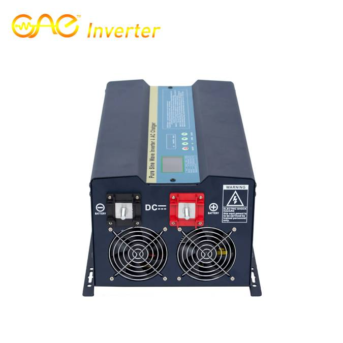 24V 1500W Low Frequency Pure Sine Wave Inverter with MPPT Solar Controller and AC charger
