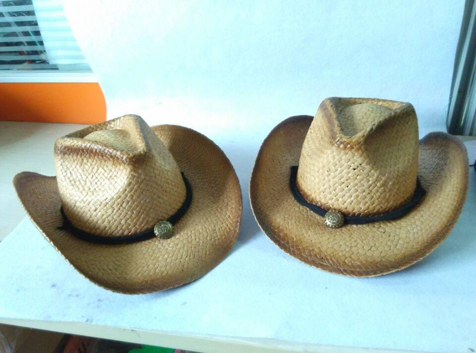 cowboy summer outdoor straw hat