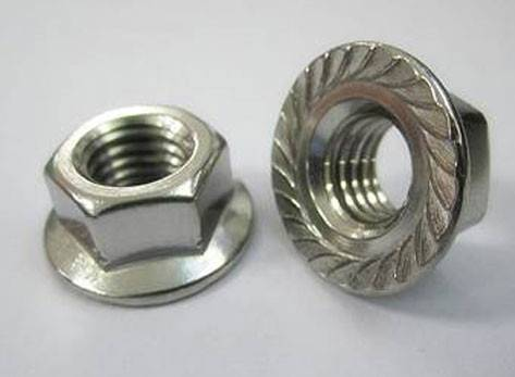 DIN6923 Hexagon Nuts with Flange,High Quality Zinc Plated Hex Flange Nut