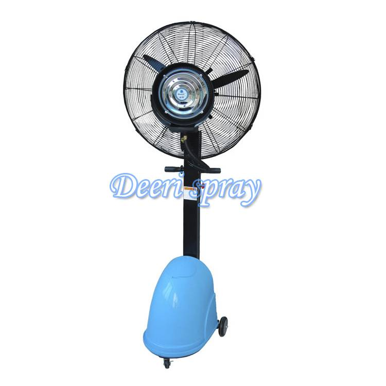Deeri Deluxe high quality pedestal spraying fan series650 for indoor outdoor