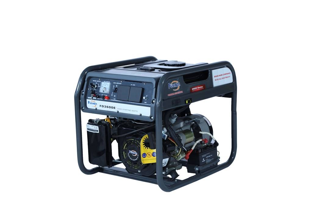 Fusinda 3kw Gasoline Generator, Portable 3kw Generator with Ce