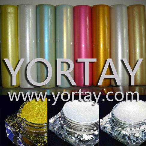 Gold and White Pearl Pigment for POIYAMIDE