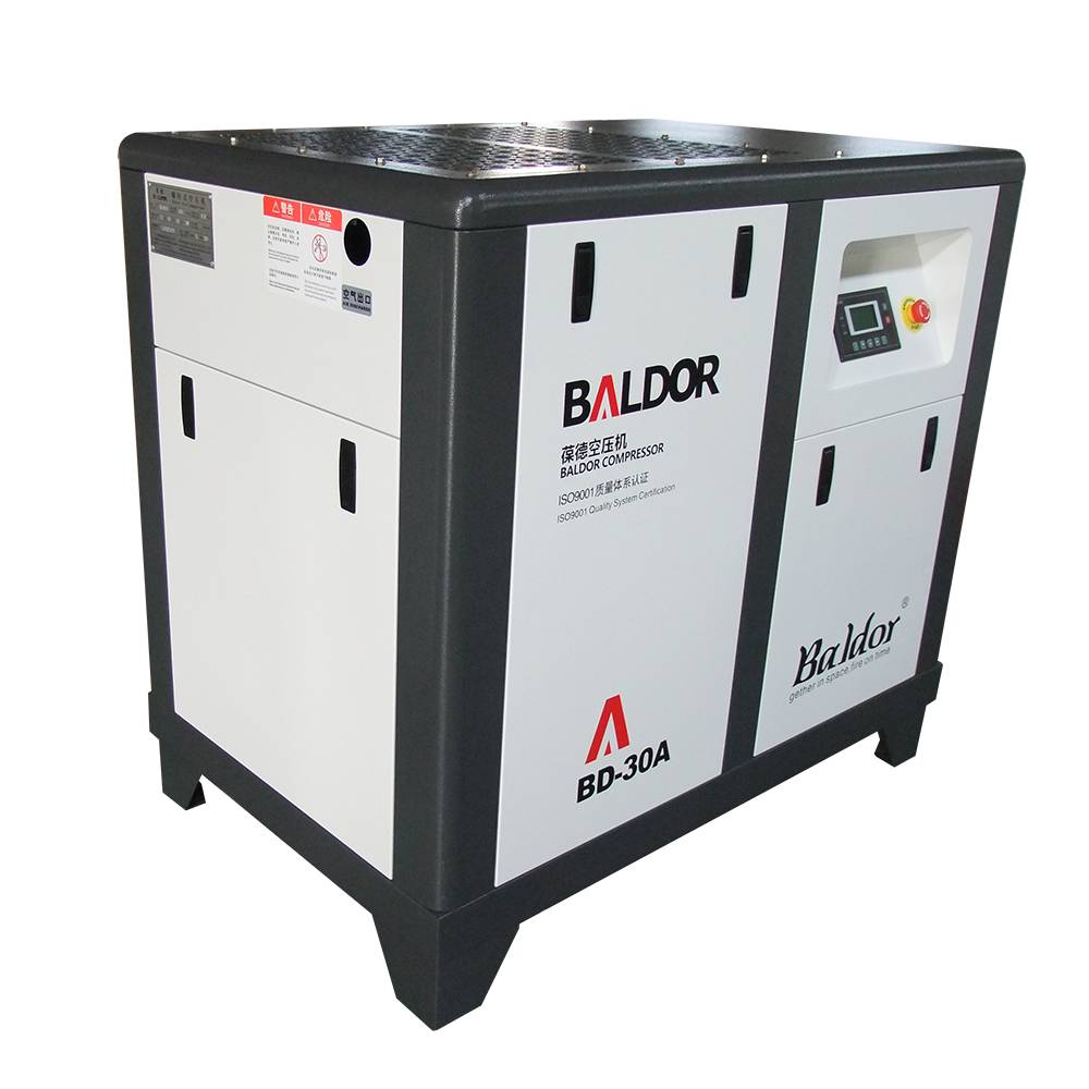 BALDOR screw air compressor 22kw BD-30A