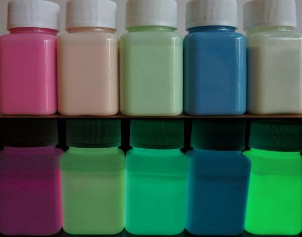 glow in the dark paint/glow paint sign paint/luminous signpost paint