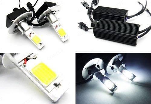 H1 High Power 3200lm COB LED Hi Low HeadLight 40W Daytime Running Light Fog Lamp