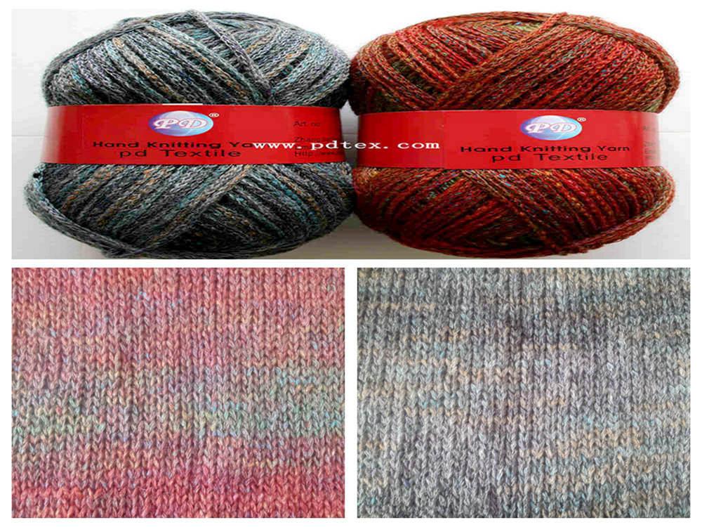 0.7nm 100%acrylic fancy yarn , Yarn