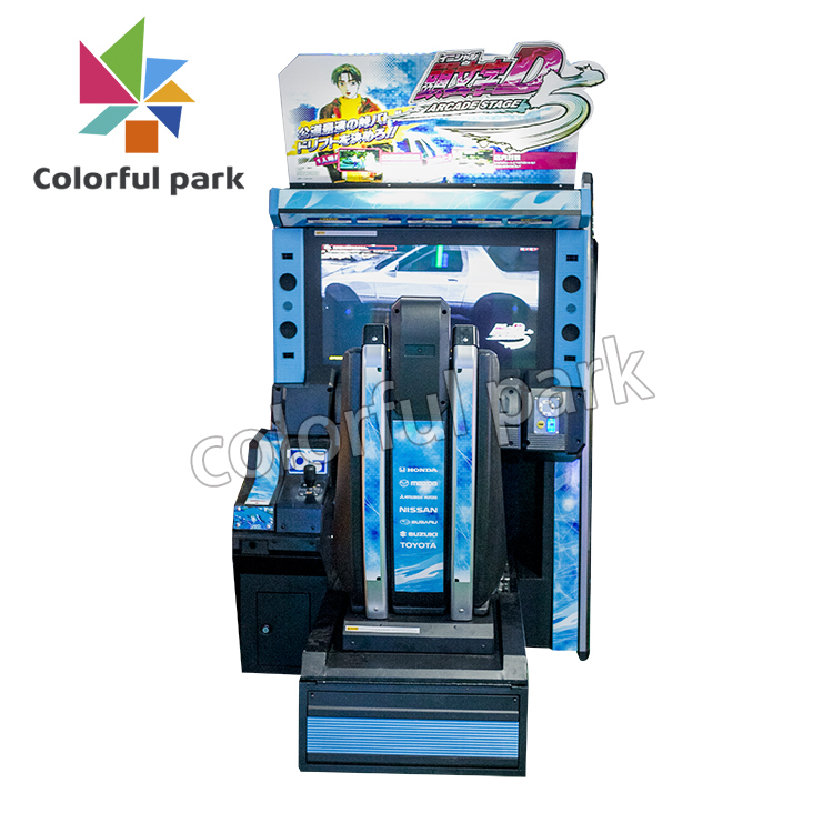 Colorful Park The Hottest Initial D5 Indoor Video Game Machine