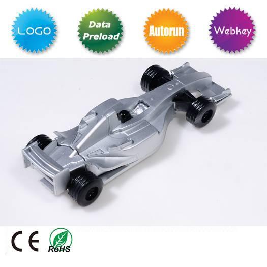 Metal F1 Racing Car USB Flash Disk
