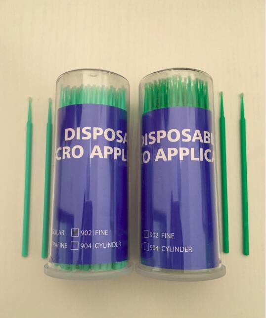 Durable Micro Disposable Eyelash Extension individual Applicators Mascara Brush for Women Wholesale