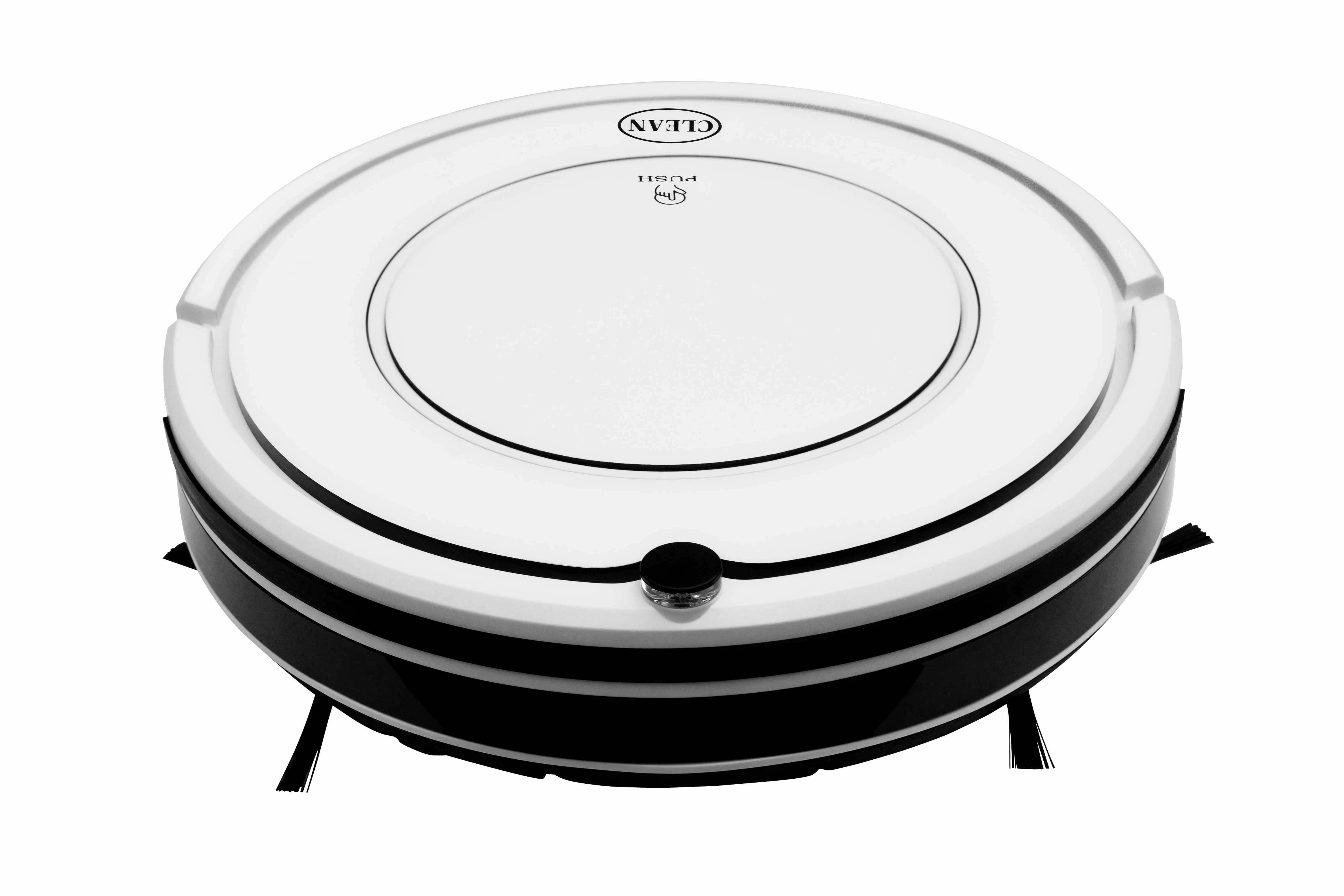 Remote control IR sensor anti-collision robotic vacuum cleaner with HEPA filter and auto charge base