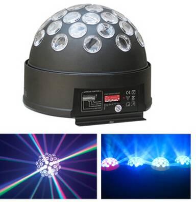 led crystall ball light for dj disco concert wedding