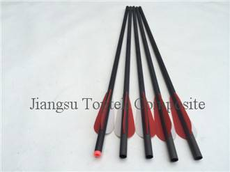 crossbow bolts, carbon archery hunting arrow, flat nock carbon arrow