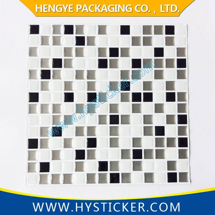 Home decoration custom self adhesive PVC wall sticker