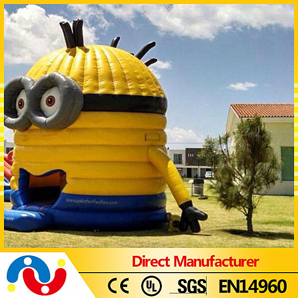 Hot Sale Inflatable Minions Bouncy House Kids Funny Bouncer Castle