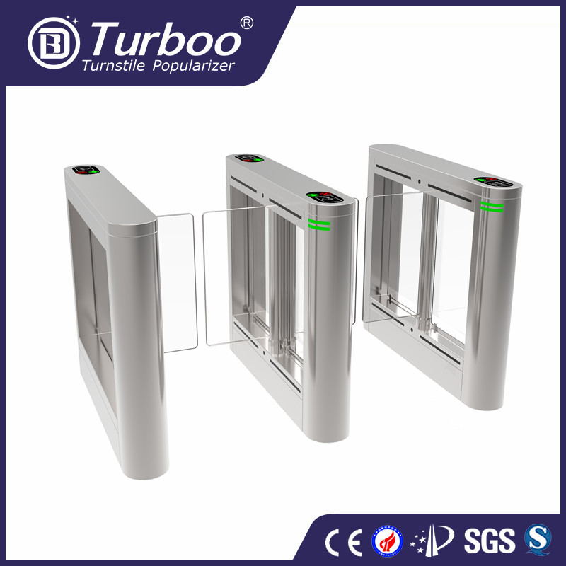 Turboo H306:Full automatic OEM swing barrier with top quality,pedestrian turnstile