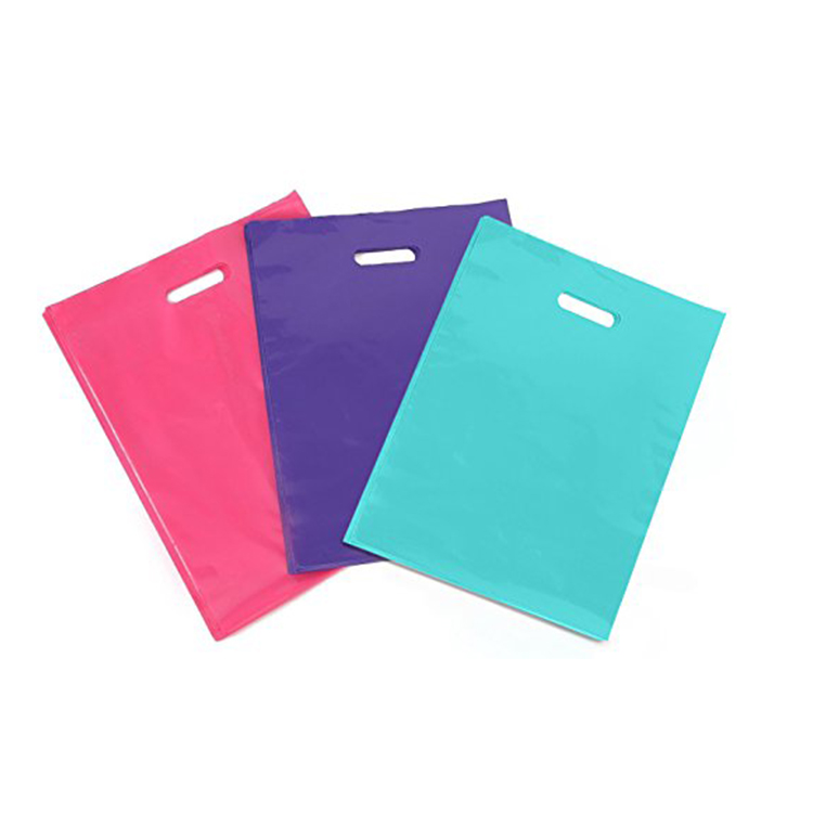 Printing Hdpe Custom Plastic Bags Whole No Minimum Order Paper With Logo From China Factory