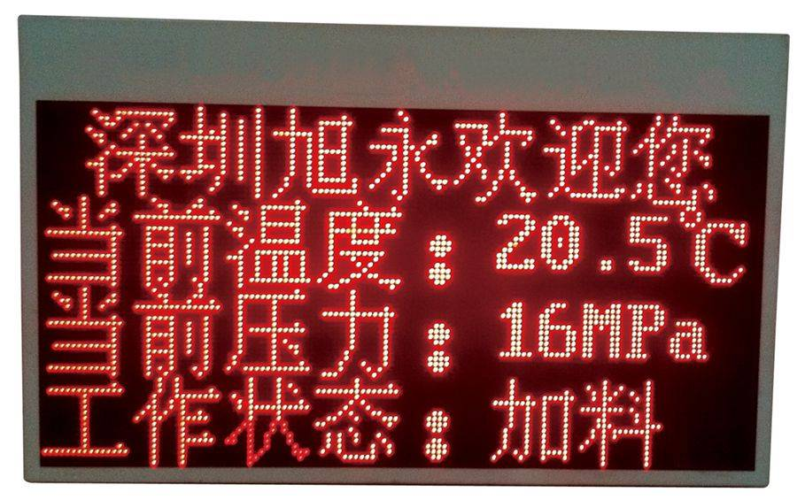 explosion proof LED display, anti-explosion intrinsic safety display for industrial use
