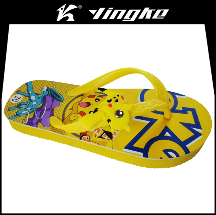 Wholesale price summer outdoor garden customize eva kids flip flop