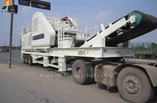 Mobile Crusher / Portable crushing plant for sale