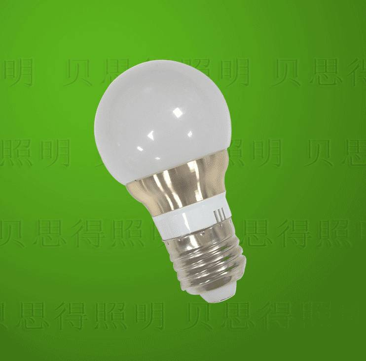 Die-Casting Aluminum Golden LED Bulb light 5W