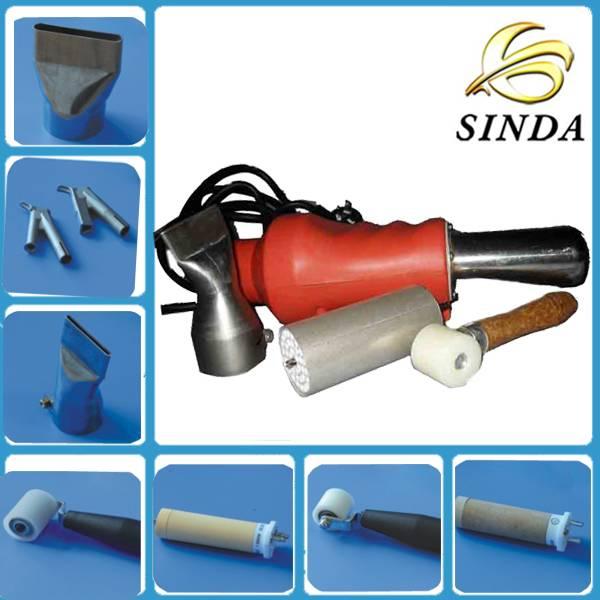 2000W portable hot air welding gun for PP PVC PE