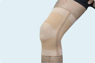 Elastic Pull-over Cartilage Knee Support- king kong medical