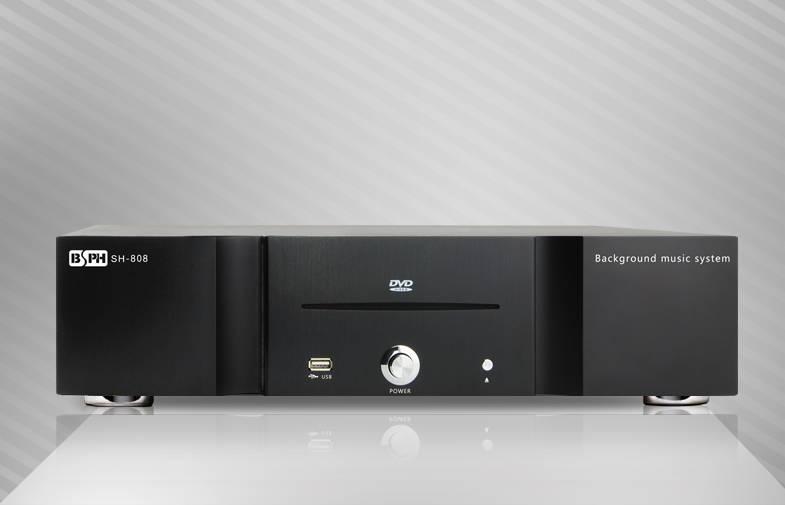 SH-808 Home Audio System 8 Zones BGM  Amplifier