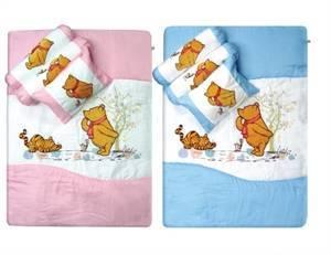 Classic Pooh 4 Pcs Comforter Set with Bag
