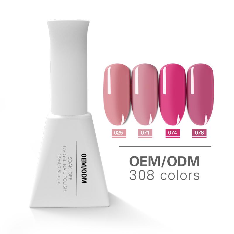 High quality nail salon uv gel soak off gel nails private label uv color gel
