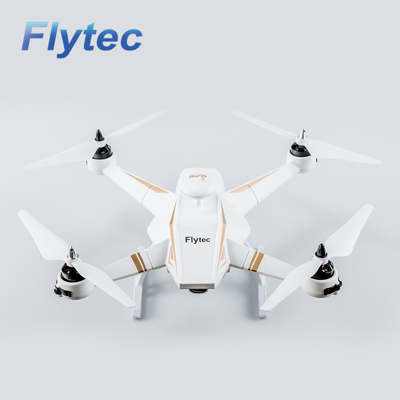 Flytec Navi T23 Brushless Motor Double GPS 1080P HD Camera RC Drone 5.8G FPV Follow Me Function