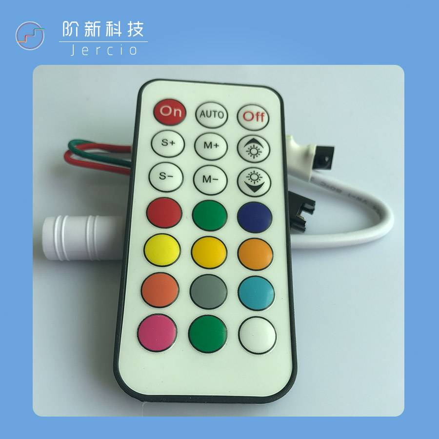 Jercio  IR-21  SK6812/ WS2811/APA102 controller