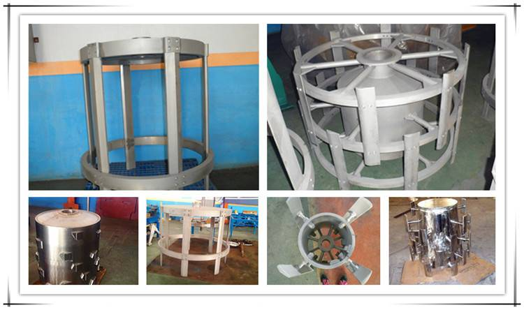 Different types of pressure screen rotor for pulping