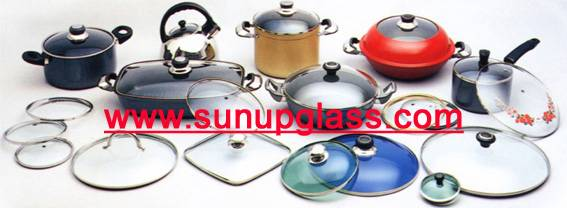 different shape glass lid for all kinds of cookware
