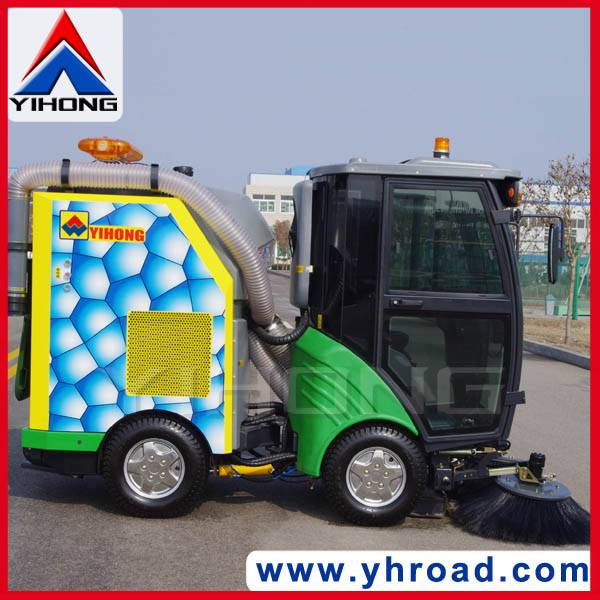 YHD21 compact city sweeper