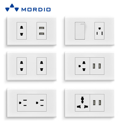 N1.8 Professional wholesaler supply new design electrical modular American standard light switch