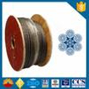 Oilfield wire rope 6xK36WS Wire Rope API-9A Certificate