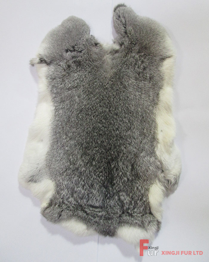 Chinchilla Rabbit Fur Skin