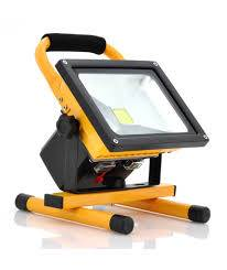 LED Portable rechargeable flood light 30W