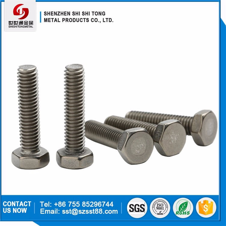 Volume Produce Promotional Price Gr5 Hand Tighten Air Craft Carrier Titanium Hexagon Head Screws