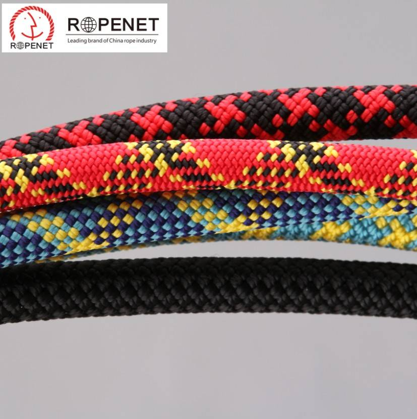 Braided Mountaineering Rope for Climbing Protect