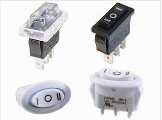 waterproof sealed ULTRA SMALL MINI SQUARE OR OVAL BODY ROCKER SWITCHES