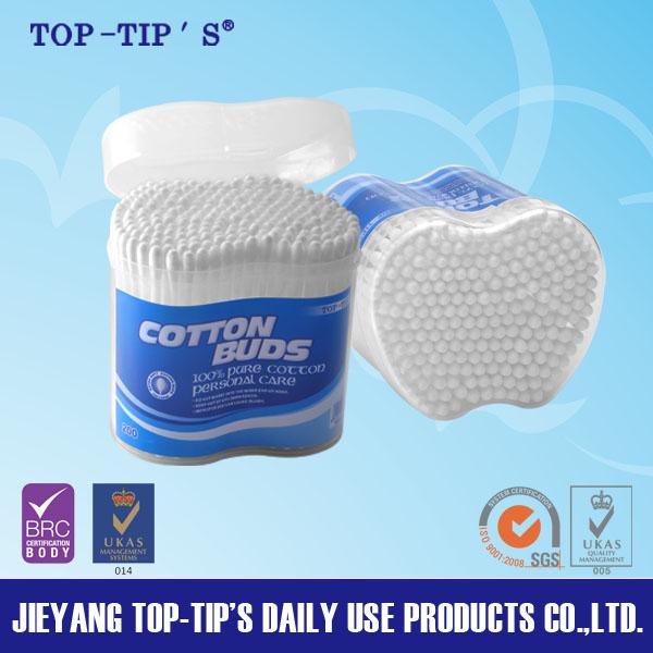 TOP TIP'S Plastic Stick Cotton Buds 200 Pieces