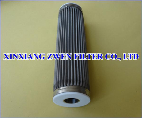 Pleated Metal Filter Element