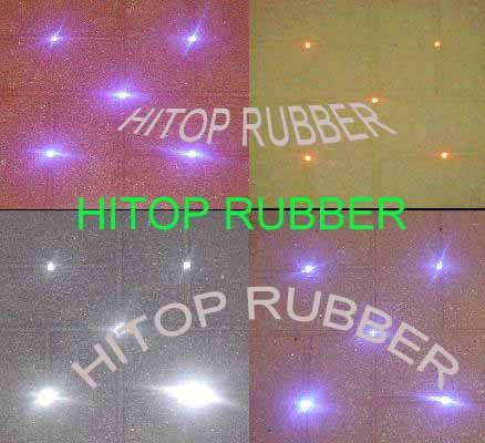 LED Rubber tile
