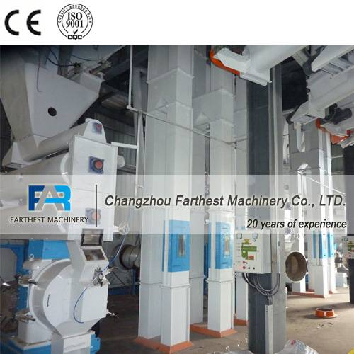 CE Animal Feed Turnkey Project, Cattle Feed Processing Line, CE Livestock Feed Processing Line